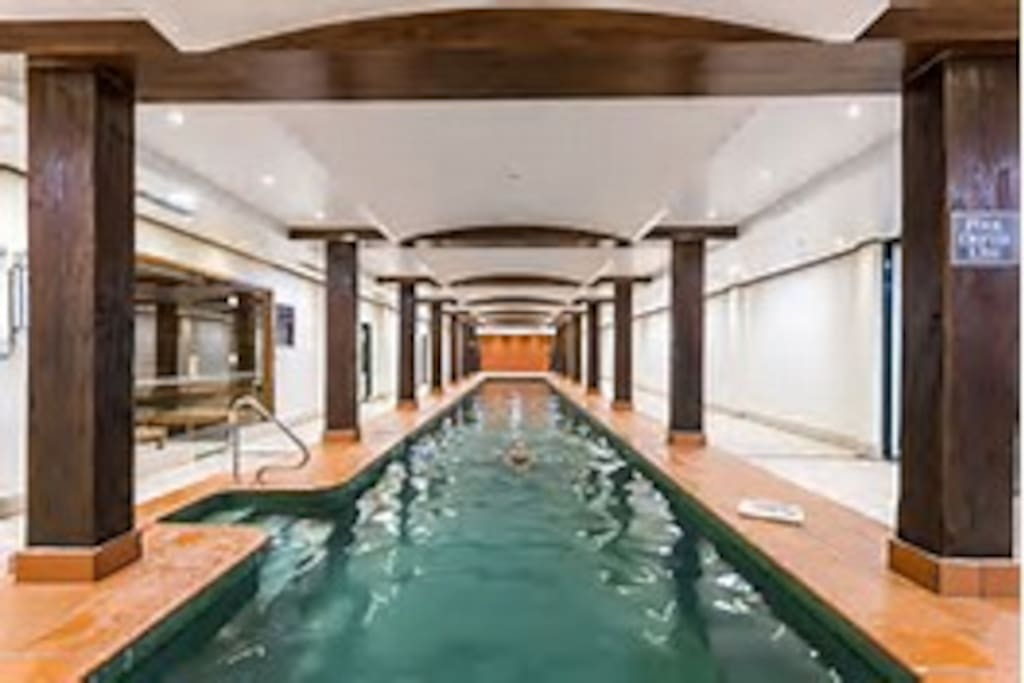 full length lap pool is complimentary for all guests.