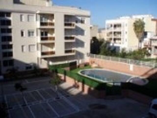 Estudio con piscina y terraza en Benicarló - Benicarló - Leilighet