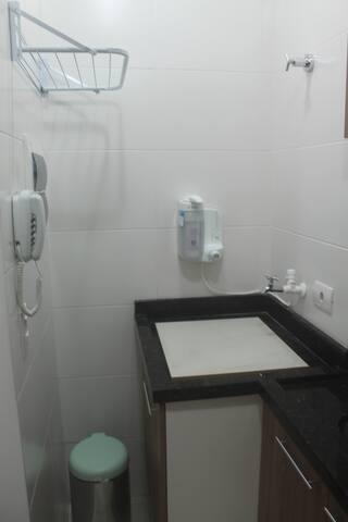 Apartamento 1308 - Tanque/Filtro