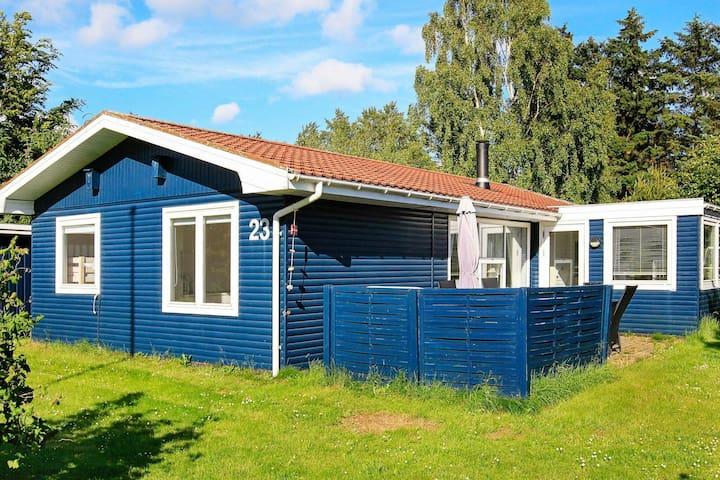 Rustic Holiday Home in Hals Jutland With Garden