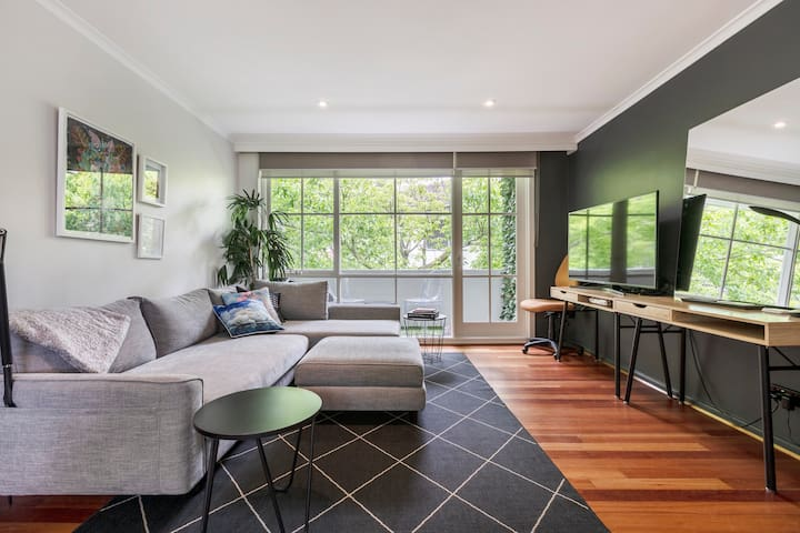 Long Term Stay + Private + near Botanical Gardens