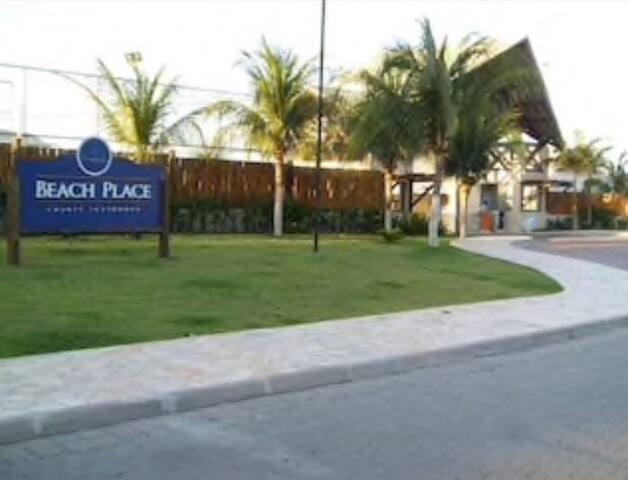 Ap térreo no Beach Place Resort