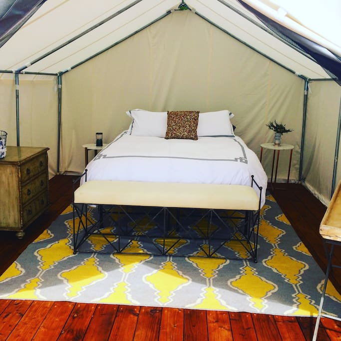 Tent 1 - with ocean view