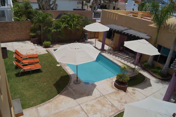 La casa de los troncos #130A - Guaymas - Wohnung