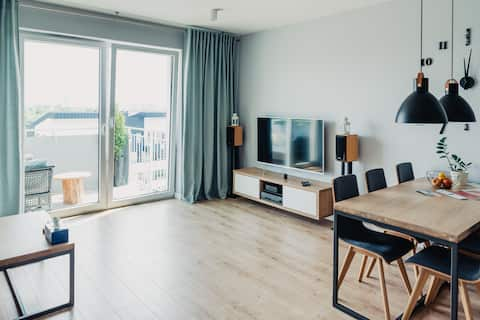Silk Apartment - Nice View - Parking - Baby Cot