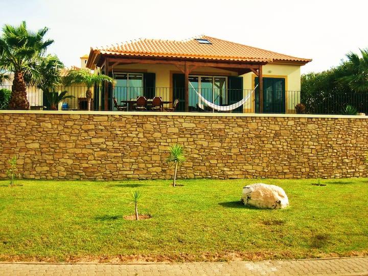 Modern and sunny beach house