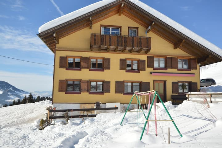 Comfortable Apartment in Langenegg near Ski Area