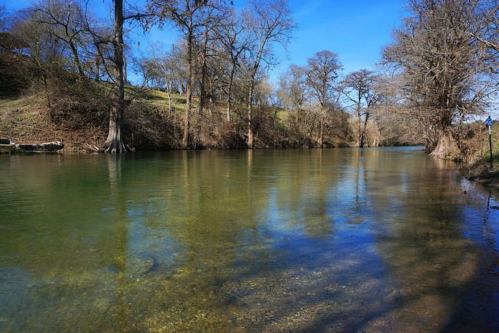 Complete Serenity on the Guadalupe - a Fishing Paradise!