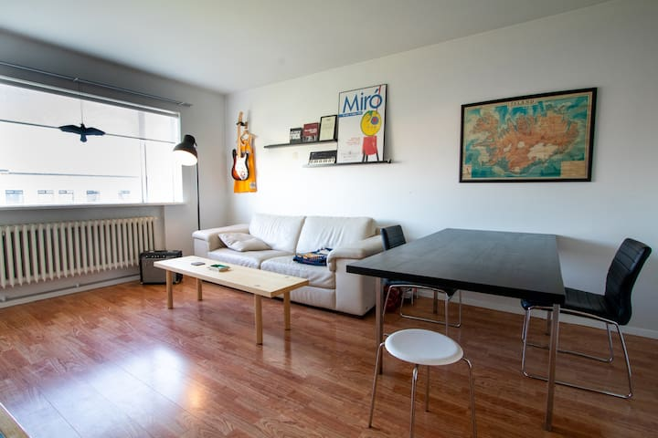 Fantastic two-bedroom apartment close to downtown