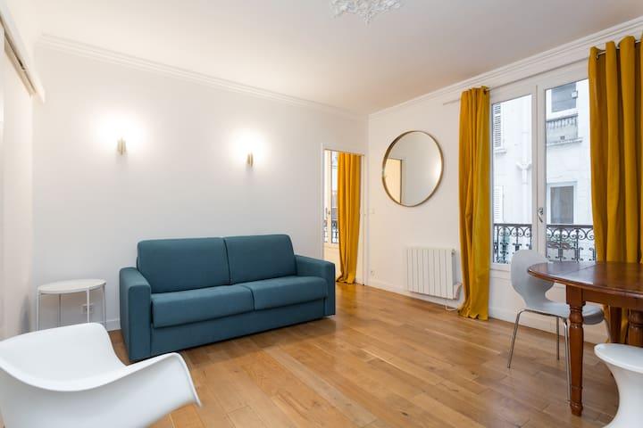 Agréable appartement sur la butte Montmartre