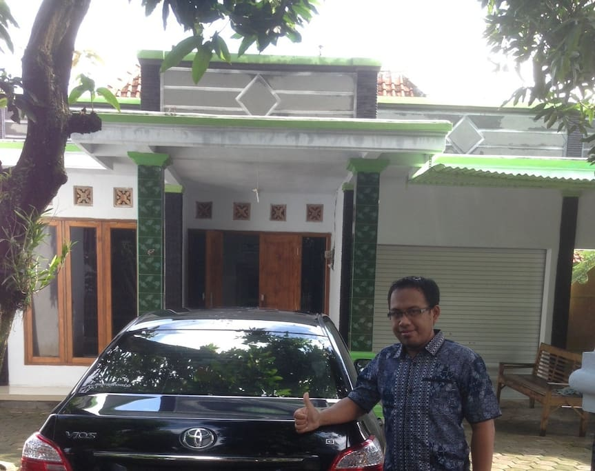 Rumah, Parkir, Ramah