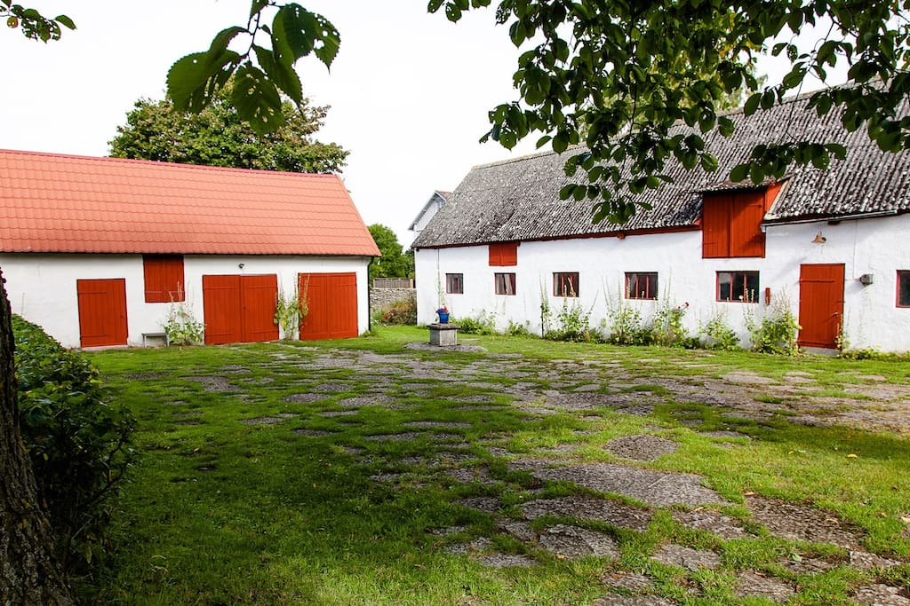 Two of our barns.