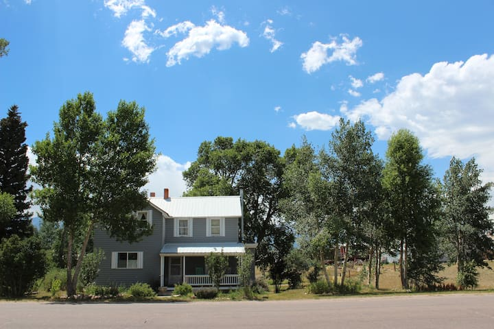 Dove Cottage - Downtown Westcliffe - Westcliffe - Huis