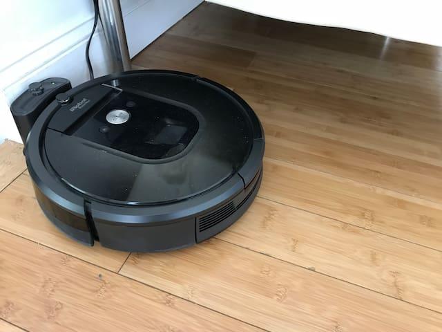 I Robot  980 1 Vacum Cleaner Living Room