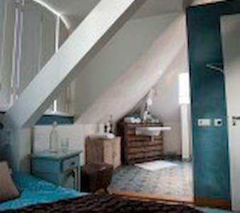 Villa Heidetuin Kamer Azur - Bergen op Zoom - Bed & Breakfast