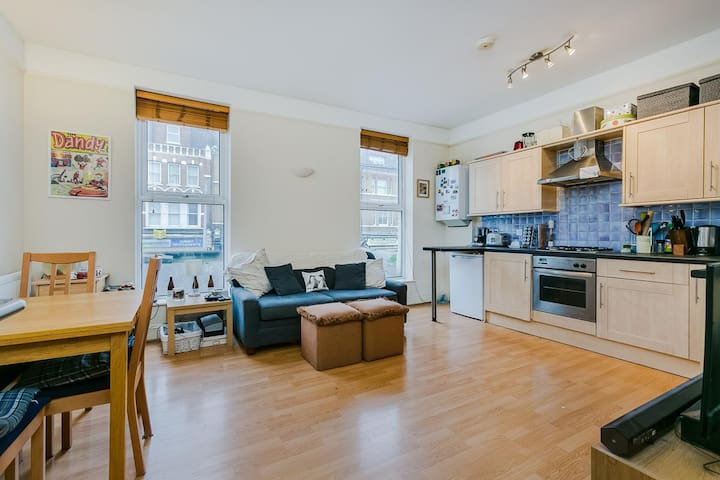Your private sunny apartment in Clapham's heart x - London - Wohnung