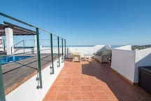 2186-Luxury penthouse with jacuzzi y bbq