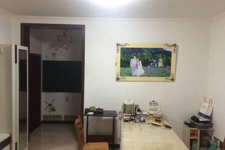 舒适宽敞的楼房公寓,带可以喝茶晒太阳的落地窗阳台,自由烹饪购物 - 北京市 - Bed & Breakfast