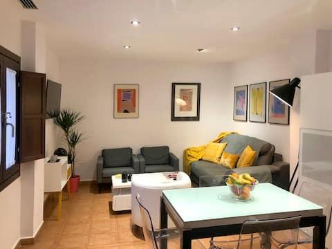 Apartamento con encanto, centro, parking gratis