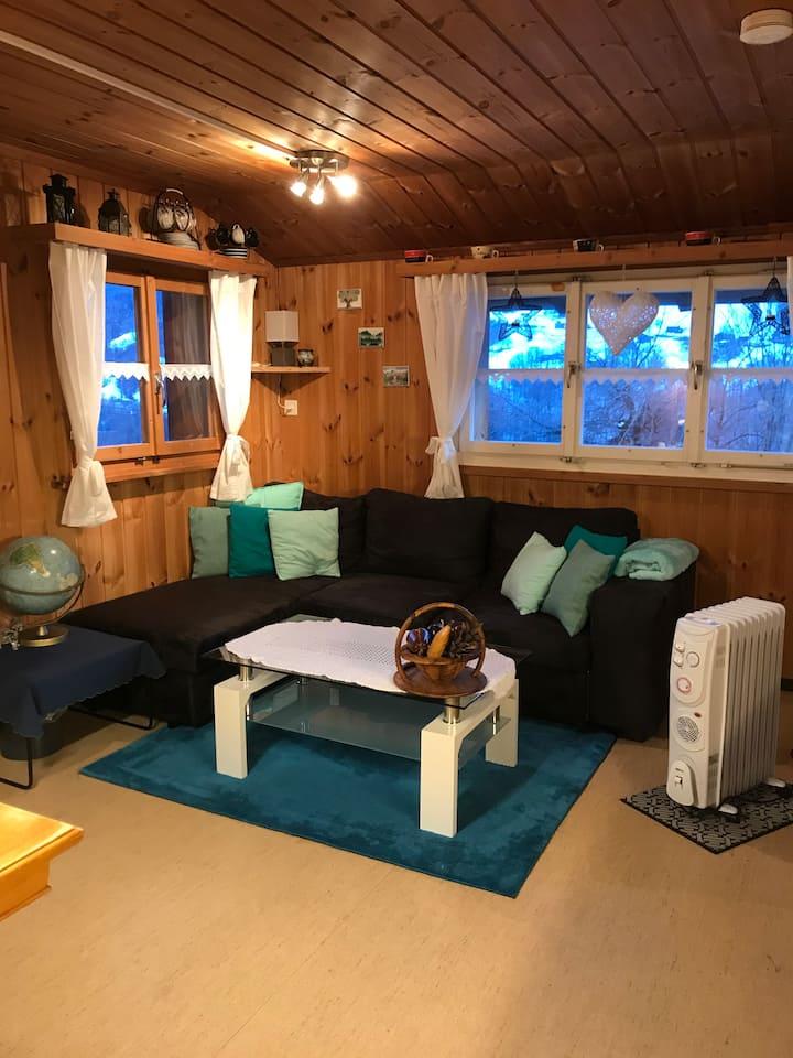 Kleine gemütliche Wohnung auf dem Bauernhof
