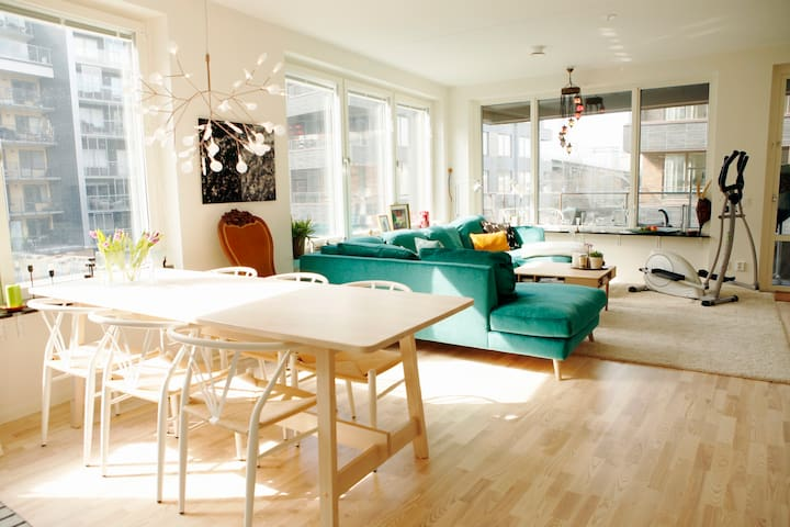 Bright and lovely apartment in Stockholm!