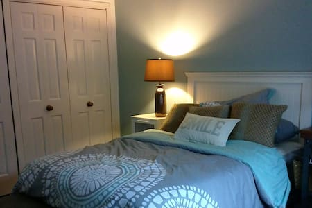 Cheerful bedroom in cozy suburb - Oak Lawn - Condominio