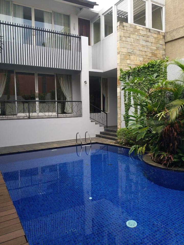 Beautiful house in South Jakarta