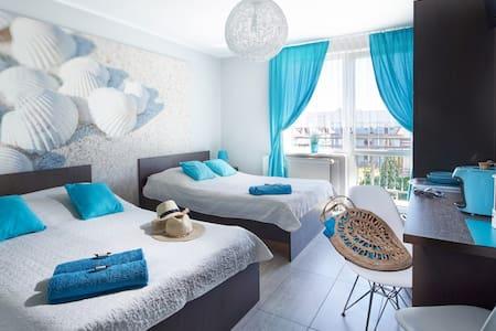 Pokoj 4os Comfort -  lozko malzenskie i sofa 2os