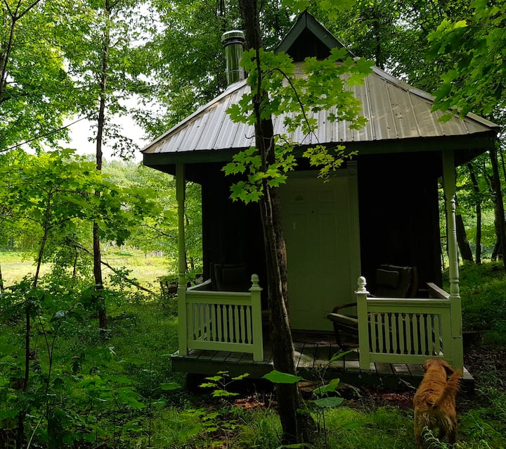 Parthenon: Rustic Cabin in the Woods
