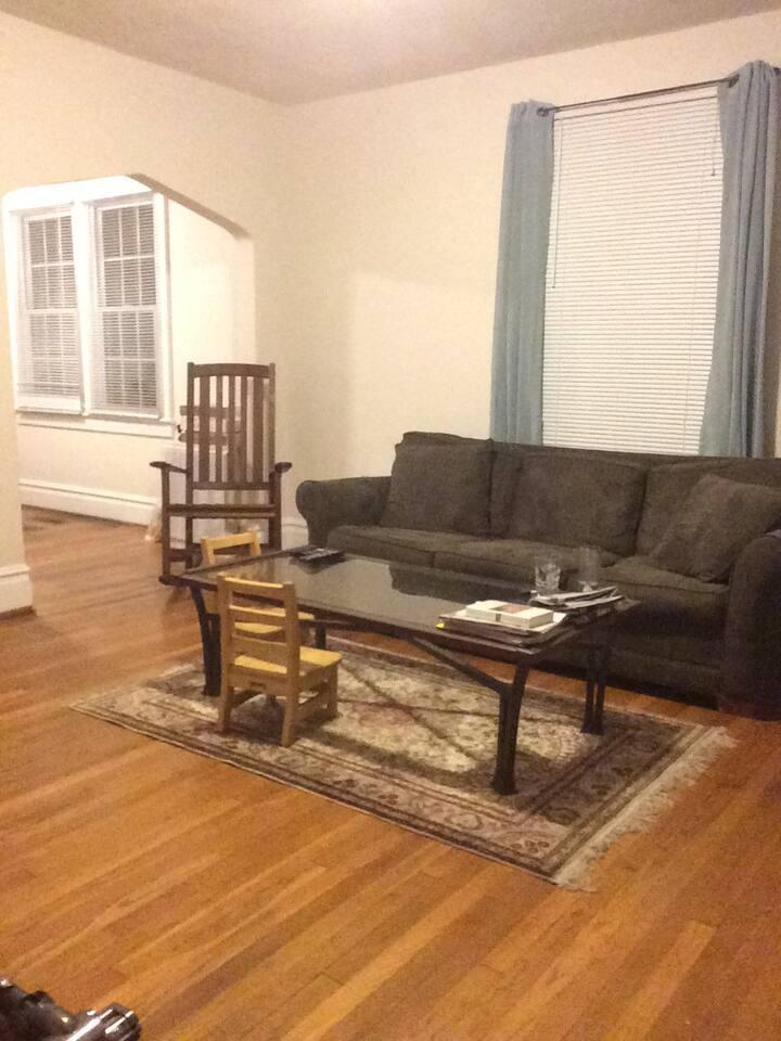 Living room... more photos to come!