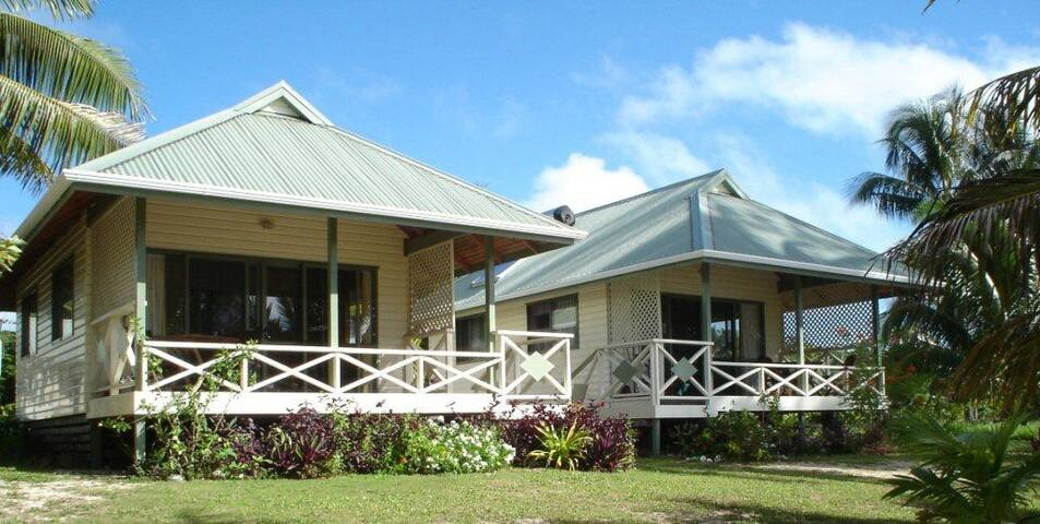 Paparei Beachfront Bungalows - Aitutaki - Bungalow