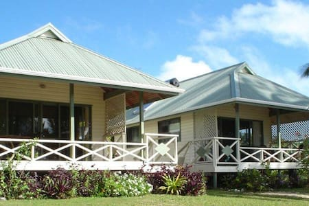 Paparei Beachfront Bungalows - Aitutaki - Bungalou