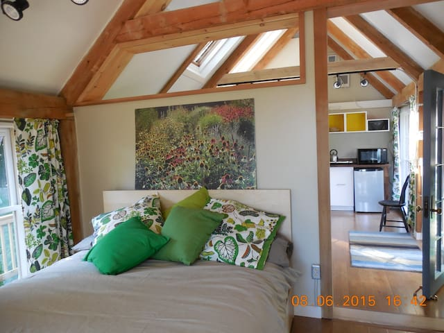 Riverfront Garden Cottage - Topsham - 旅舍