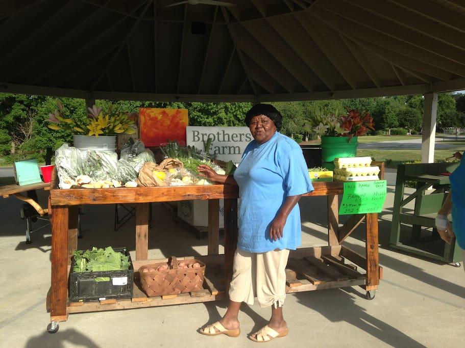 Come meet Lillie at the Lenoir County Farmers' Market!