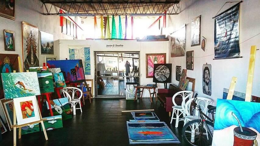ArteEvolutivo y Surf - Miramar - Casa