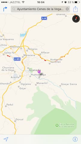 Between Granada y Sierra Nevada: huge and cosy apt - Cenes de la Vega - Apartmen