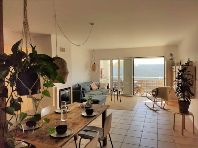 Lovely apartment in Arrifana with ocean view