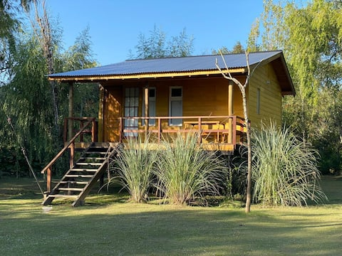 "Cabin in the Tigre Islands "" The Susanita"""
