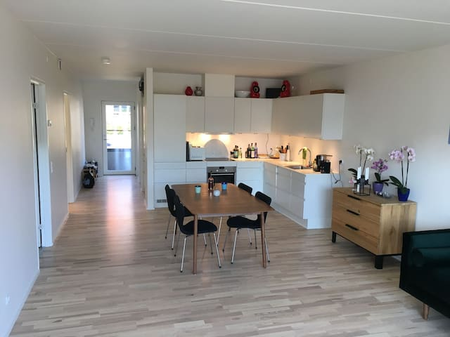 Cozy, bright and new apartment near Copenhagen