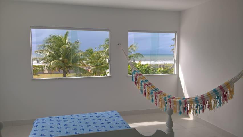 Casa de praia à beira-mar - Guaibim - บ้าน