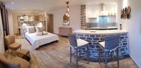 Loft neuf en rez de villa indépendant: Maredda 2