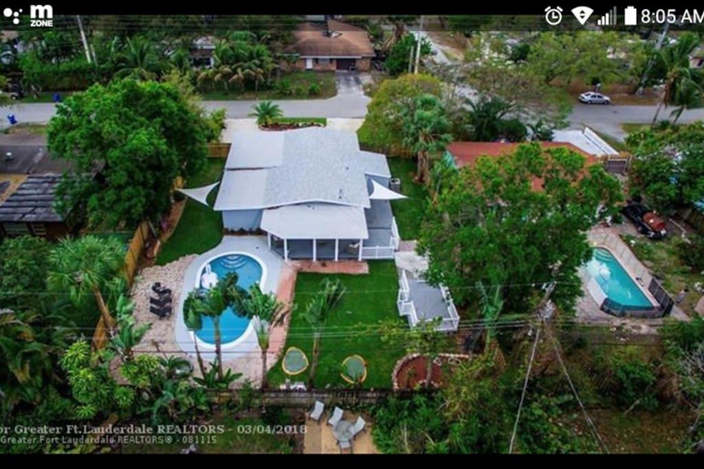 (Backyard)  Pool