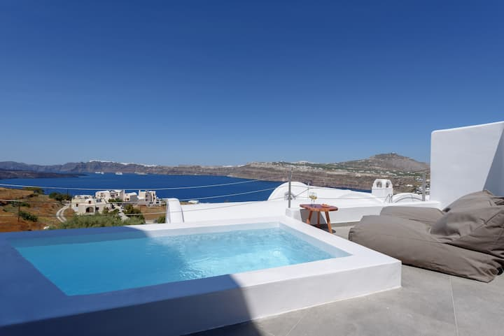 Dahlia Suite, Private Plunge Pool, Caldera View