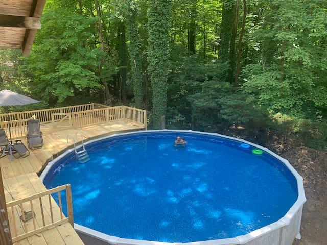 Seven Springs Cabin - private pool