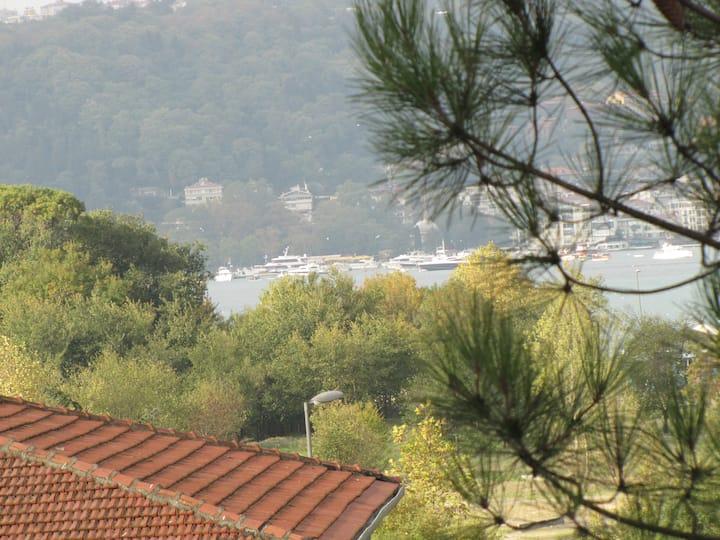 Anadolu Hisarı'nda Villa Konforunda Odalar