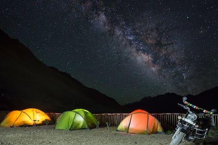 Hostel in Kaza, Spiti Valley - Outdoor Tent - Kaza Khas - Sátor