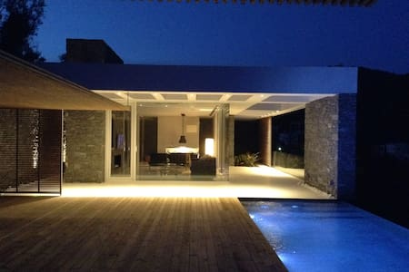 A-luxury villas/A for accommodation - Plomari - Casa de camp