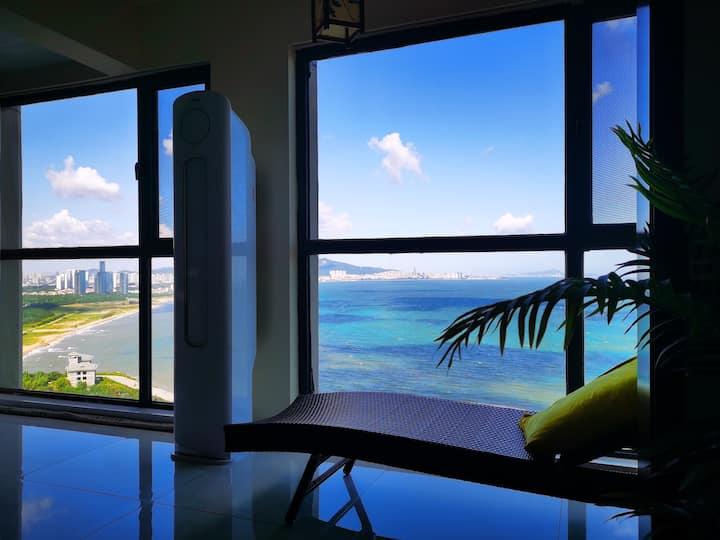 养马岛观海公寓,山海为一,与大海做邻居。