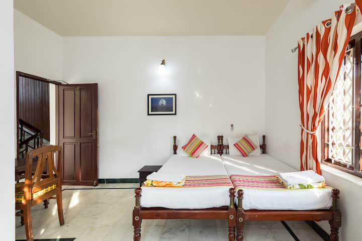 Air Conditioned Twin Room at Fort Cochin