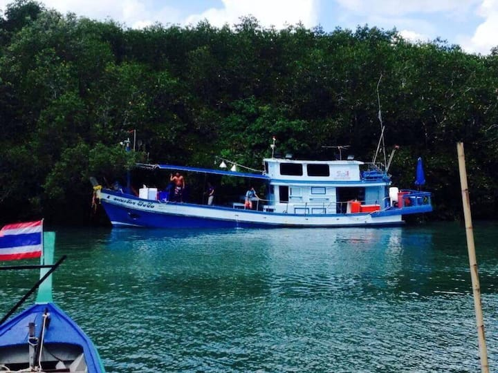 Good fishing trip at Phuket Andaman